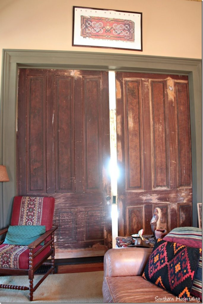 old sliding doors