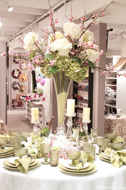 Foyer Table Floral Arrangements : Images about tablescape ideas on pinterest round
