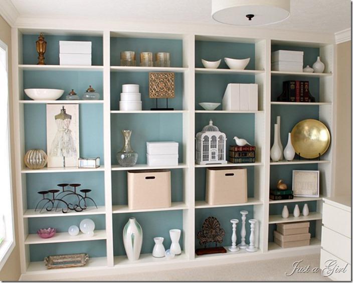 Den Project: Built In Billy Bookcase Ideas - Southern ...