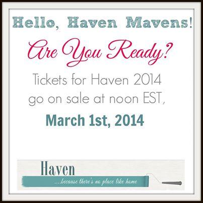 Haven ticket sales