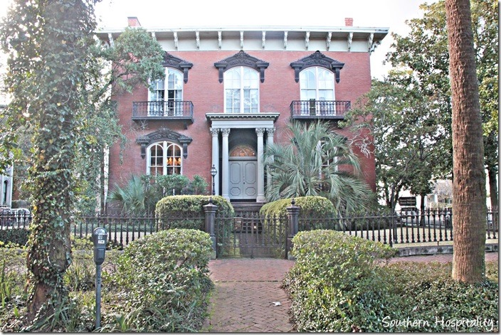 Savannah mercer williams house