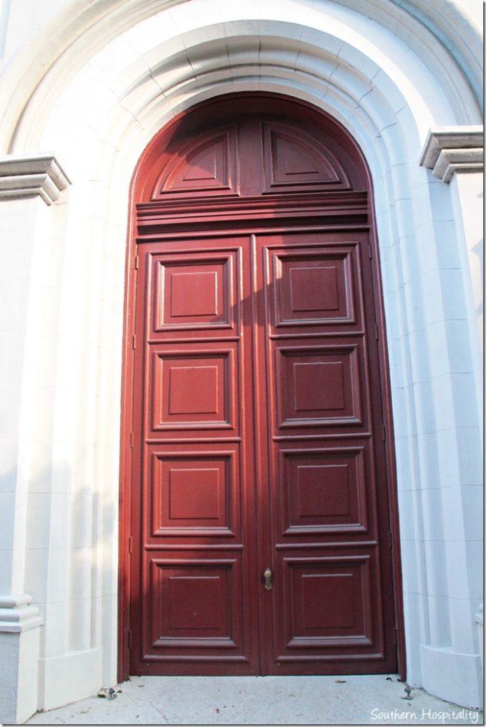 savannah church door