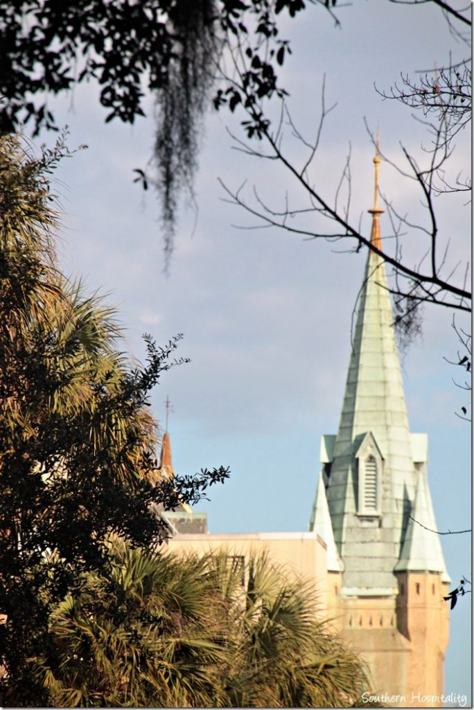 savannah church steeple