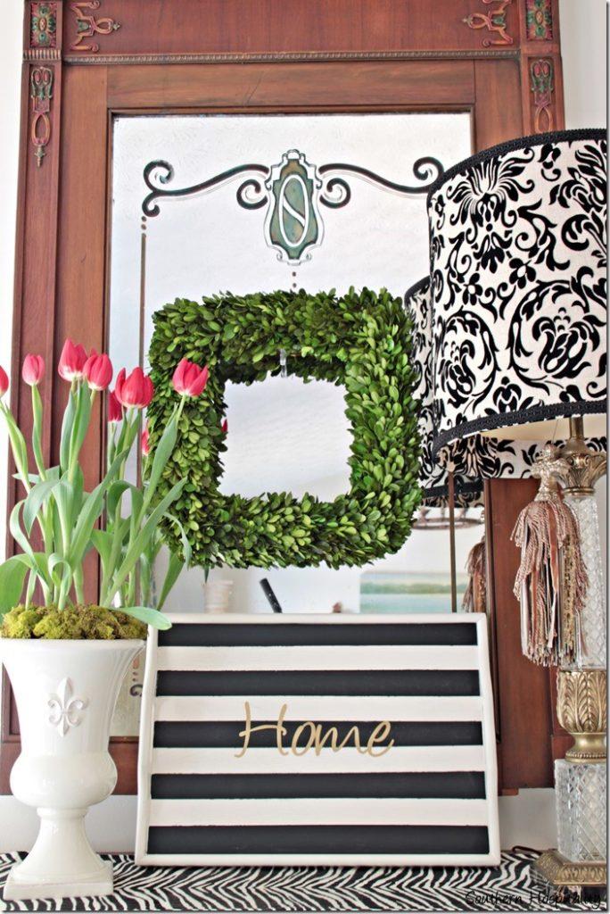 spring foyer table