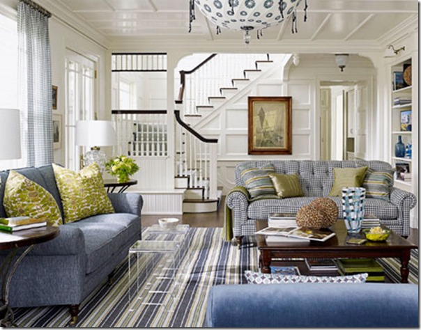 ... are just so easy on the eyes, like this room from House Beautiful