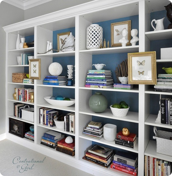 Den Project: Built In Billy Bookcase Ideas