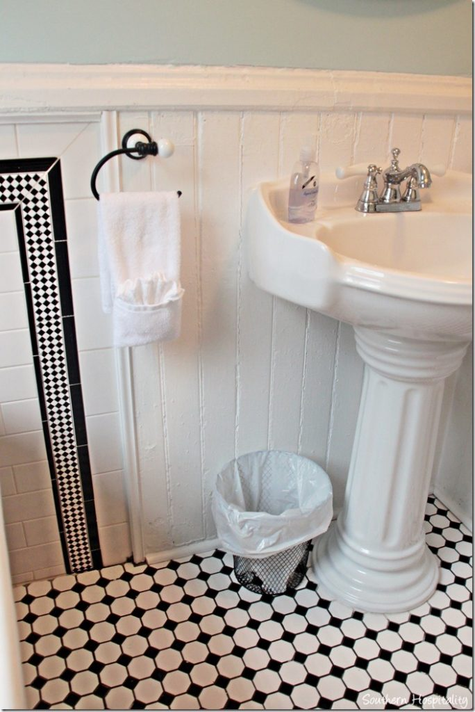 white caps 2nd bath sink
