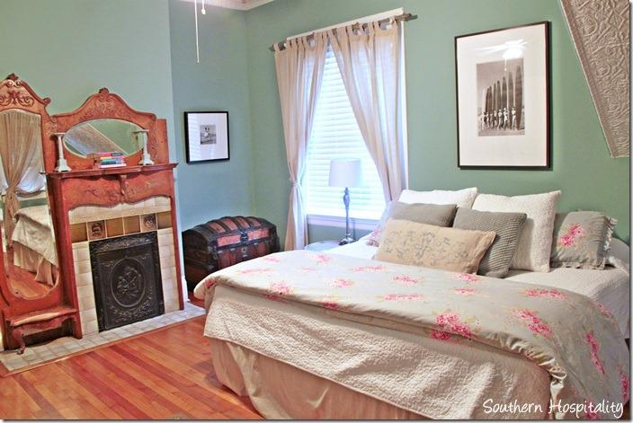 Stunning white caps bedroom
