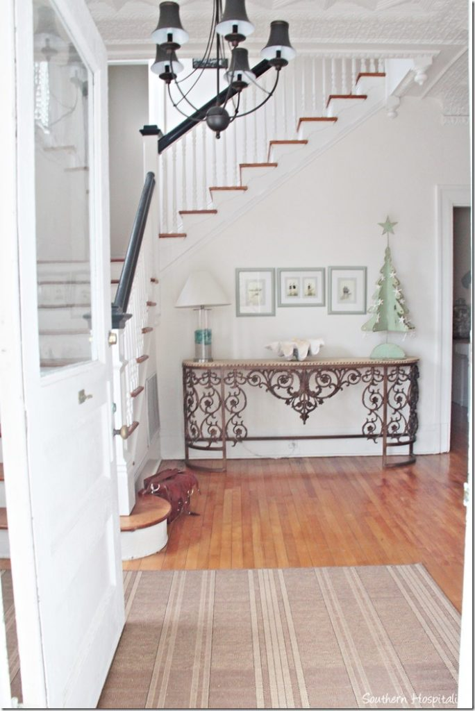 white caps foyer