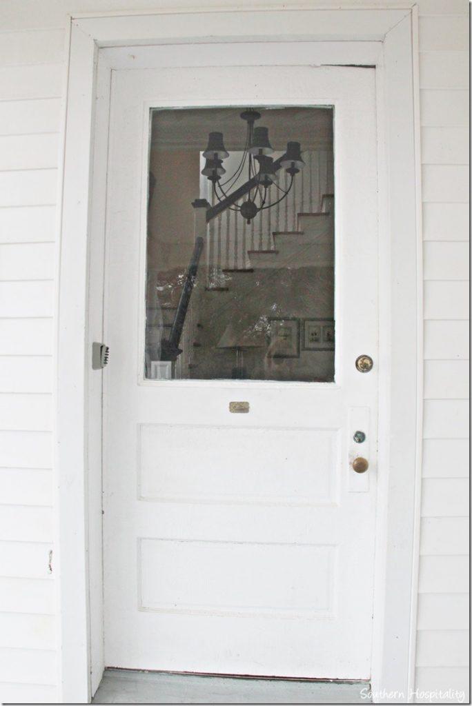 white caps front door