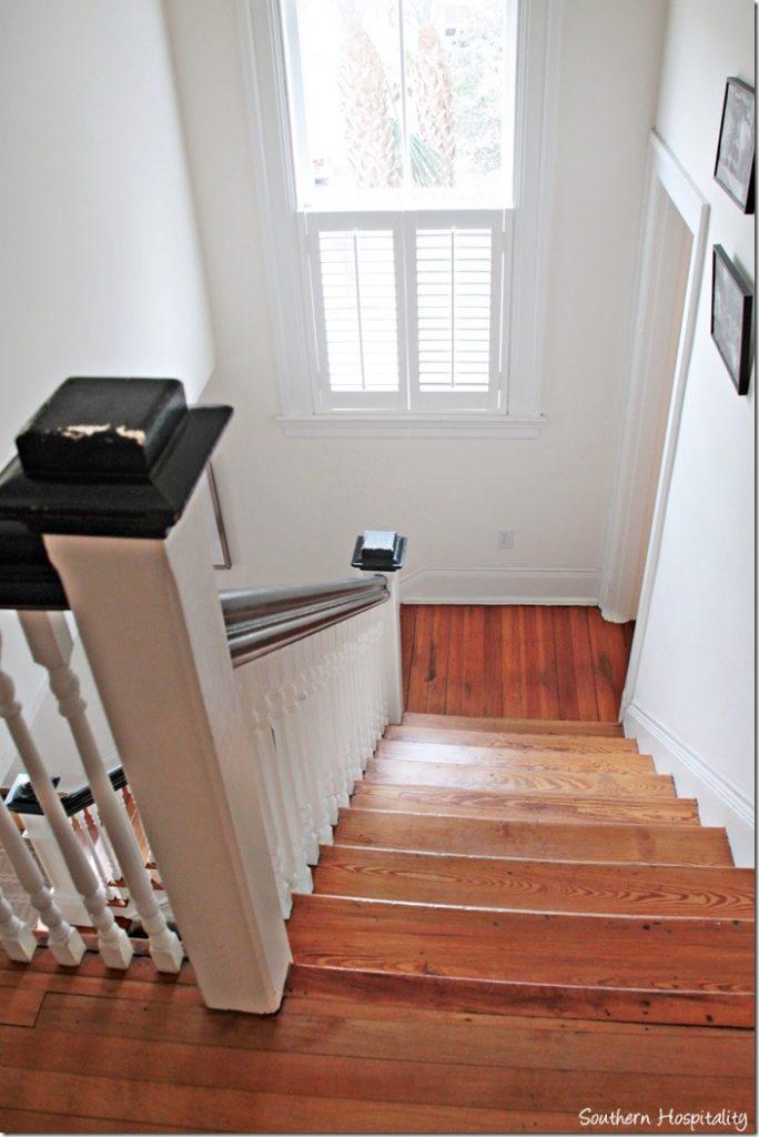 white caps stairs