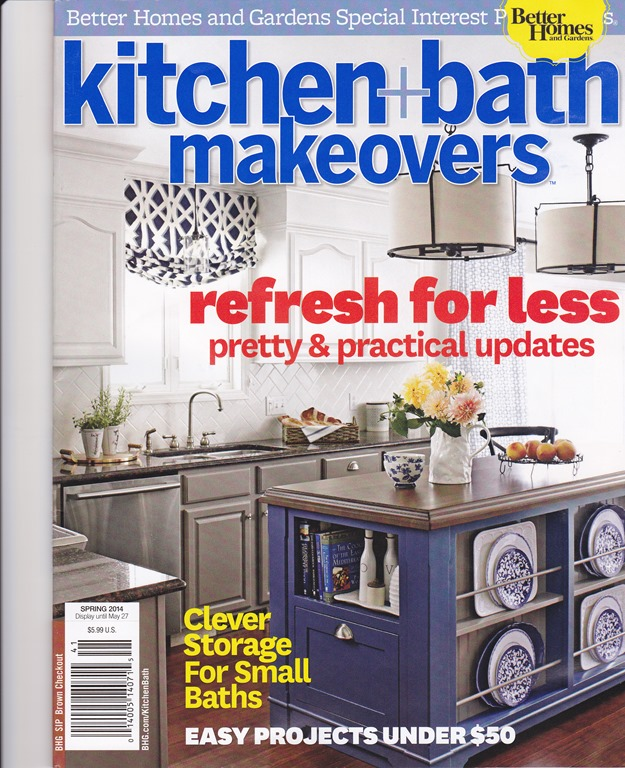 Better homes and gardens kitchen and bath makeovers for Home builders magazine
