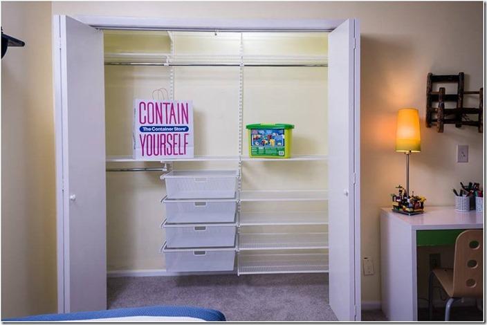 container store closet