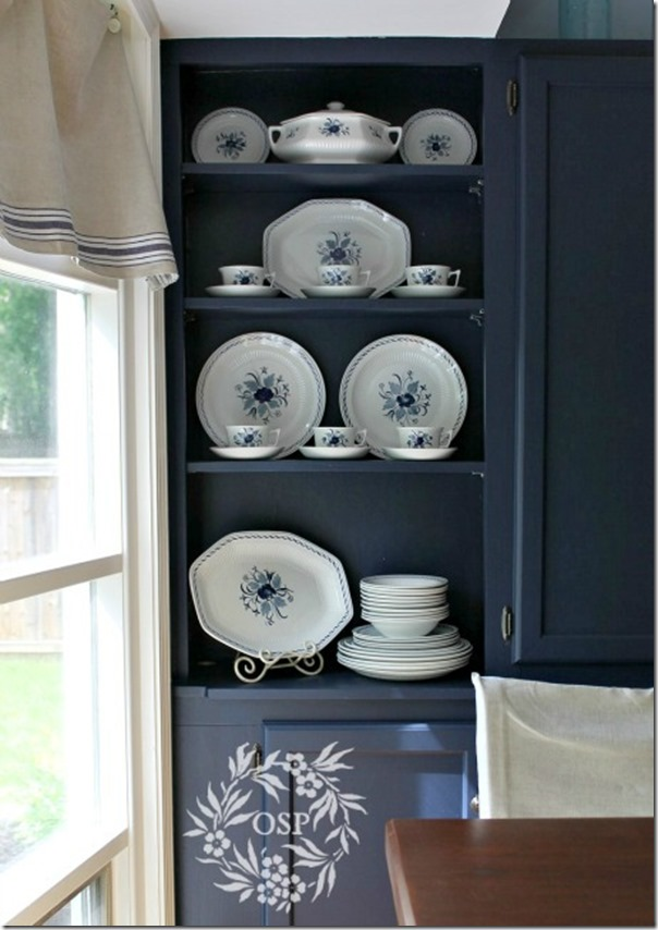 kitchen dish storage cabinet