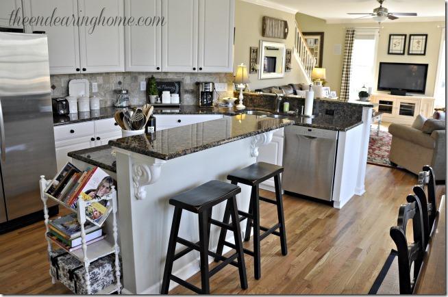 cocina en 2 habitaciones familiares