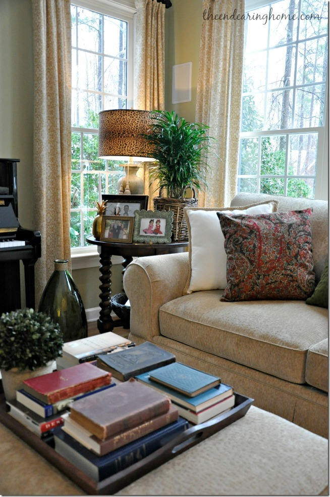 mesa de centro de la sala de estar