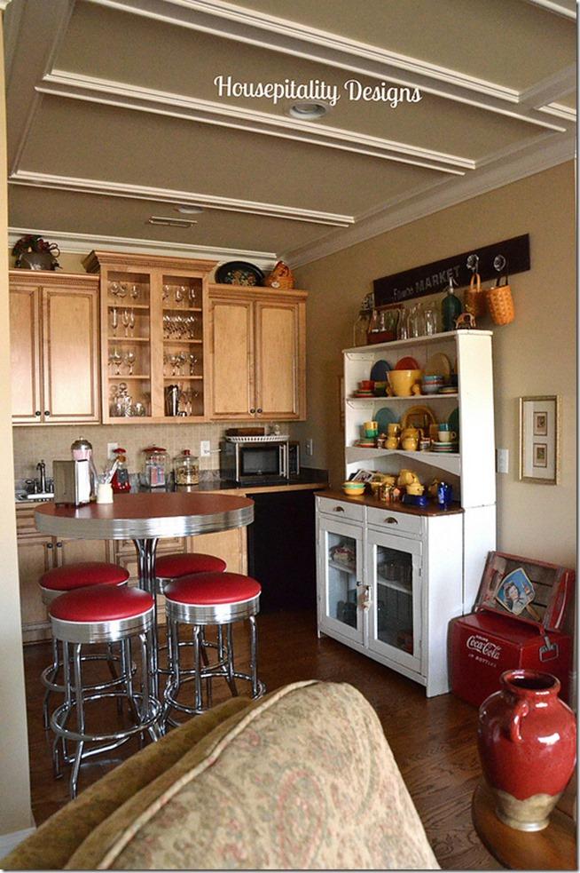 media room kitchen