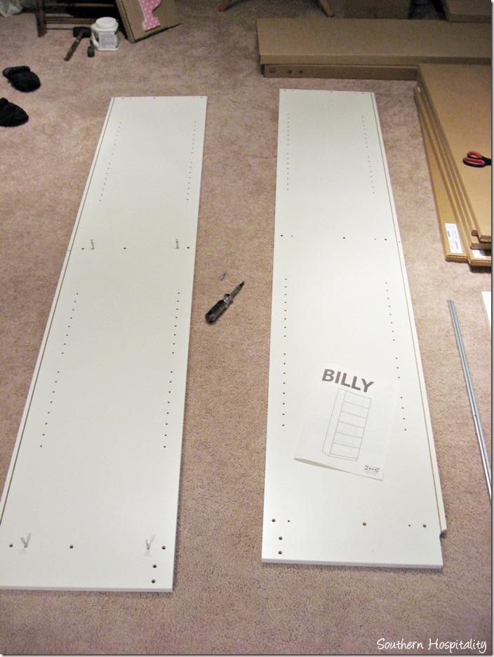 side of Billy bookcase