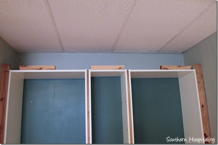 add crown molding to a regular bookcase 1