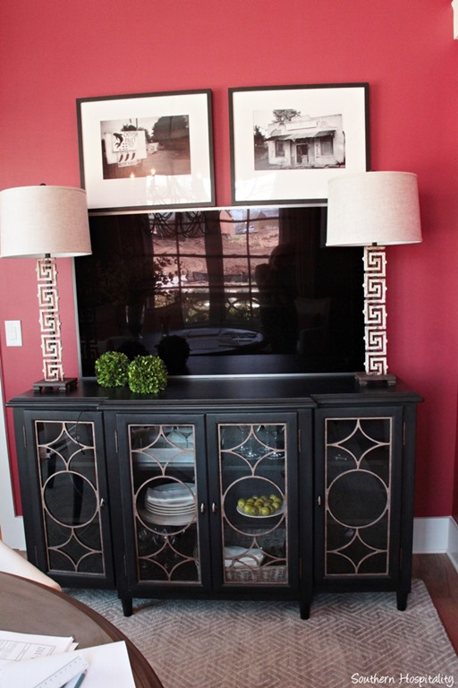 Feature friday the hgtv smart home in nashville tn for Living room hutch
