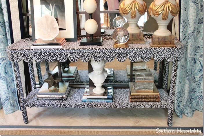 family living room console