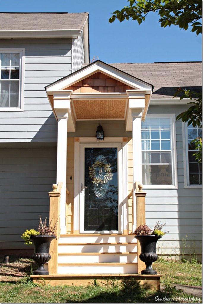 front portico