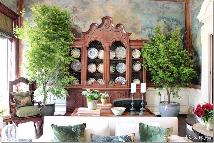 grand salon bookcase