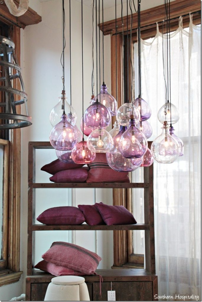 plum pendant lights