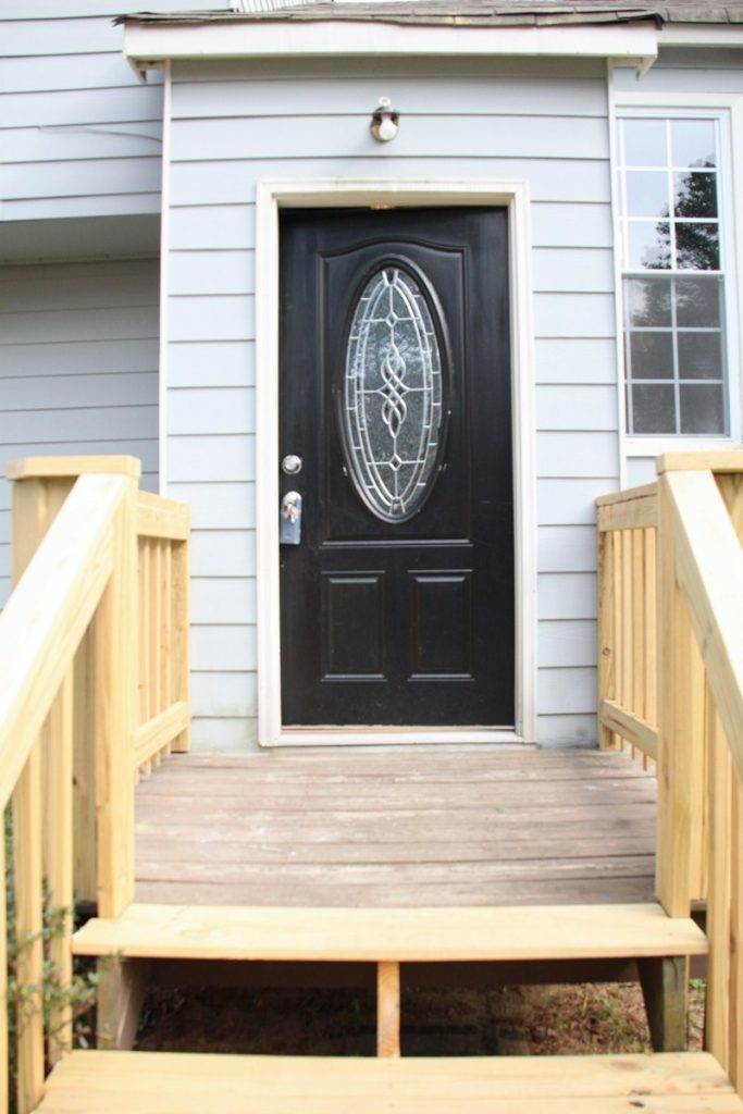 Front Porch Before tips to increase curb appeal