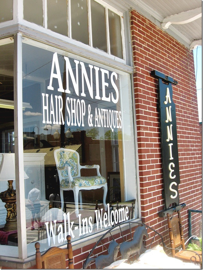 antiques hair shop