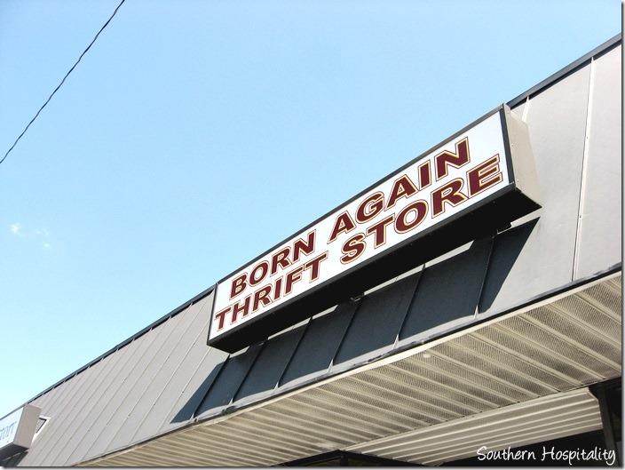 born again thrift