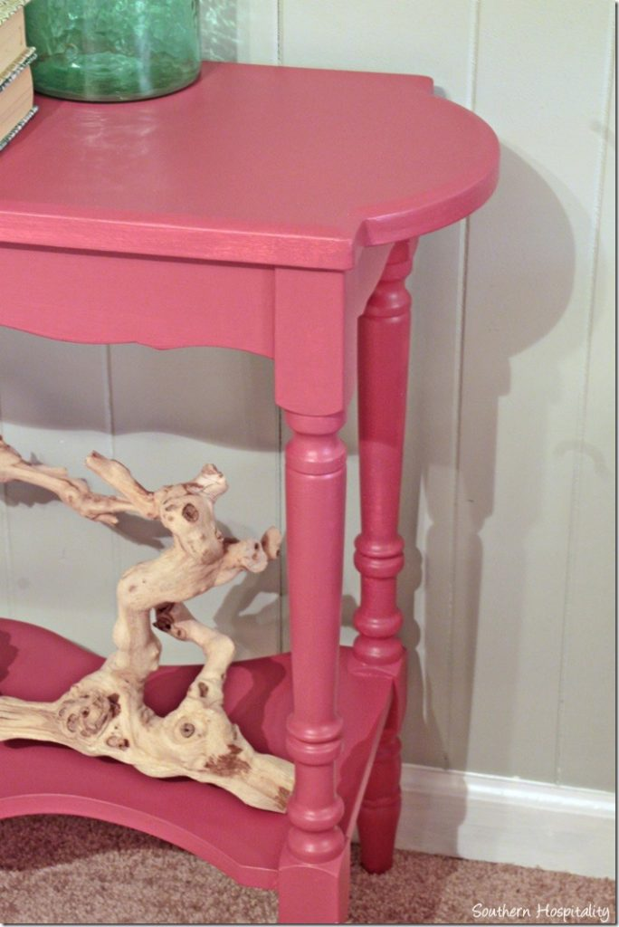 console table end
