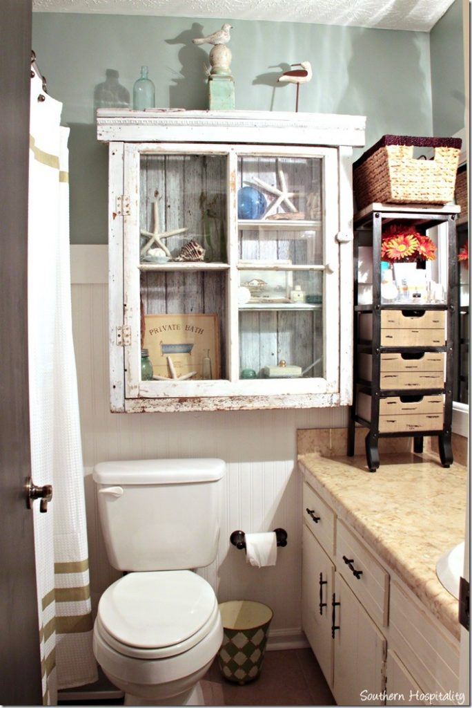 extra storage in the bathroom