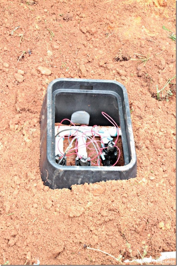 junction box for irrigation