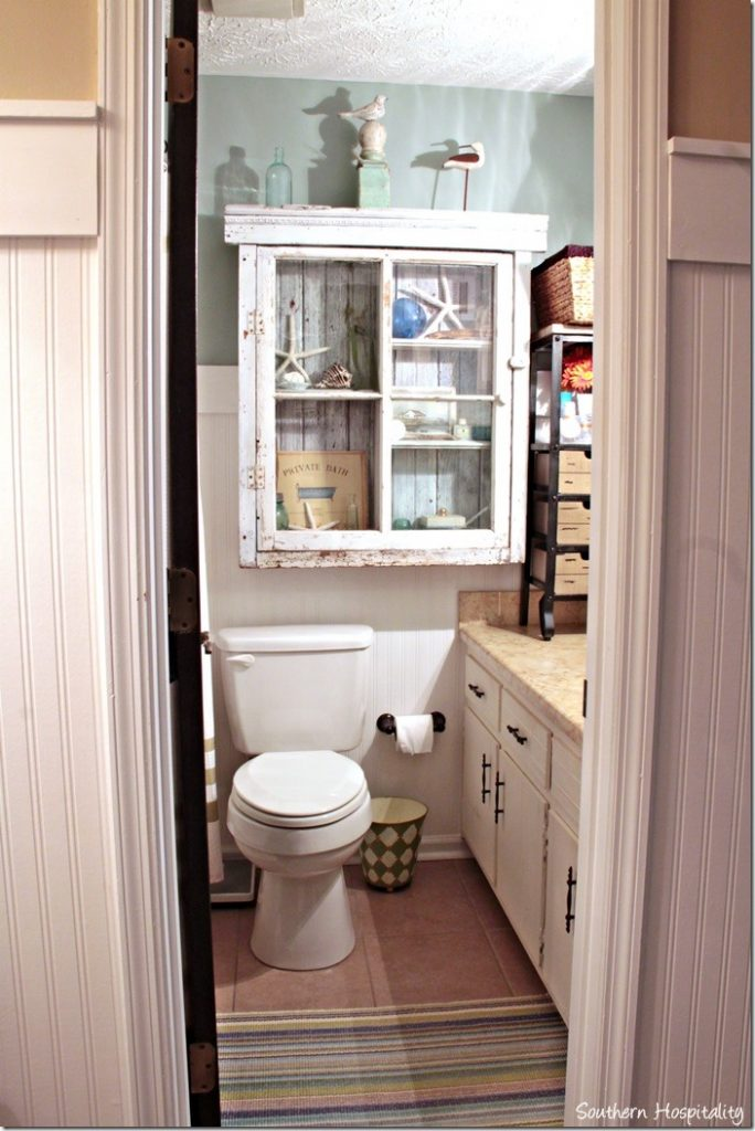 Luxury Remember how small my master bath is It us very much a one person space new storage piece