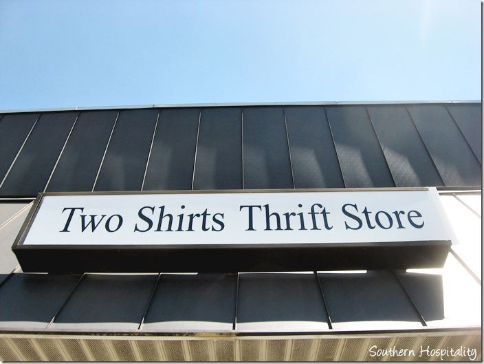two shirts thrift