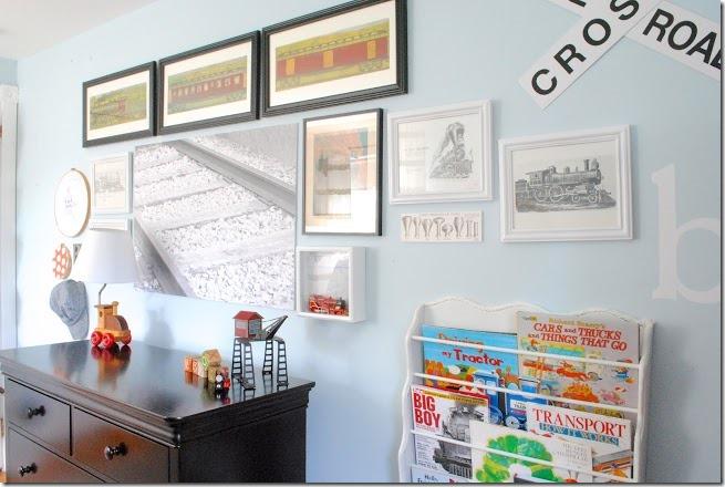 Boys Bedroom Ideas Train Themed Photos