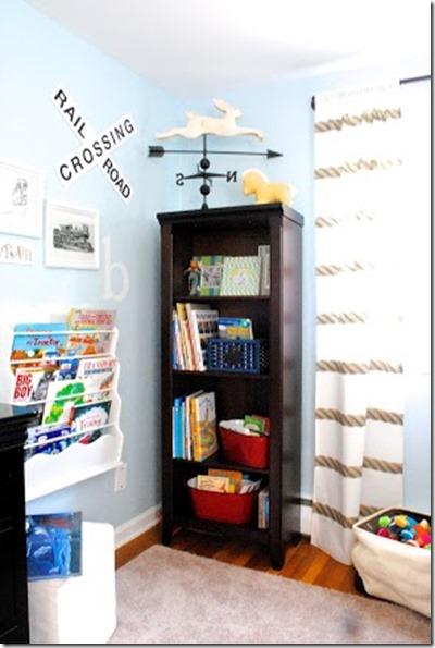 Boys Bedroom Ideas Train Themed Storage