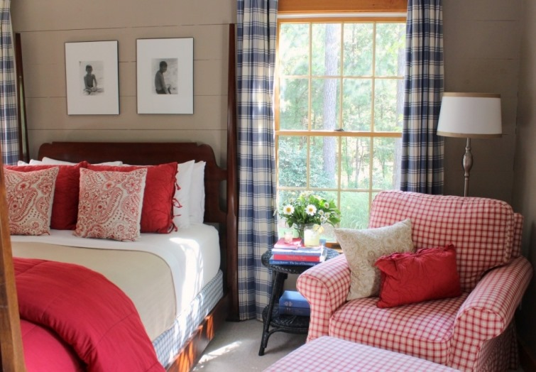 feature friday: decorating with red, white, and blue - southern