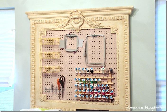 Charming Craft Room Organization Board