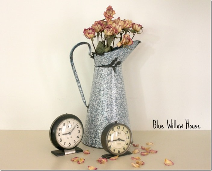 Dried-roses-3-French-water-Pitcher blue willow house