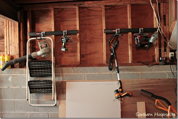 Organization In The Garage Southern Hospitality