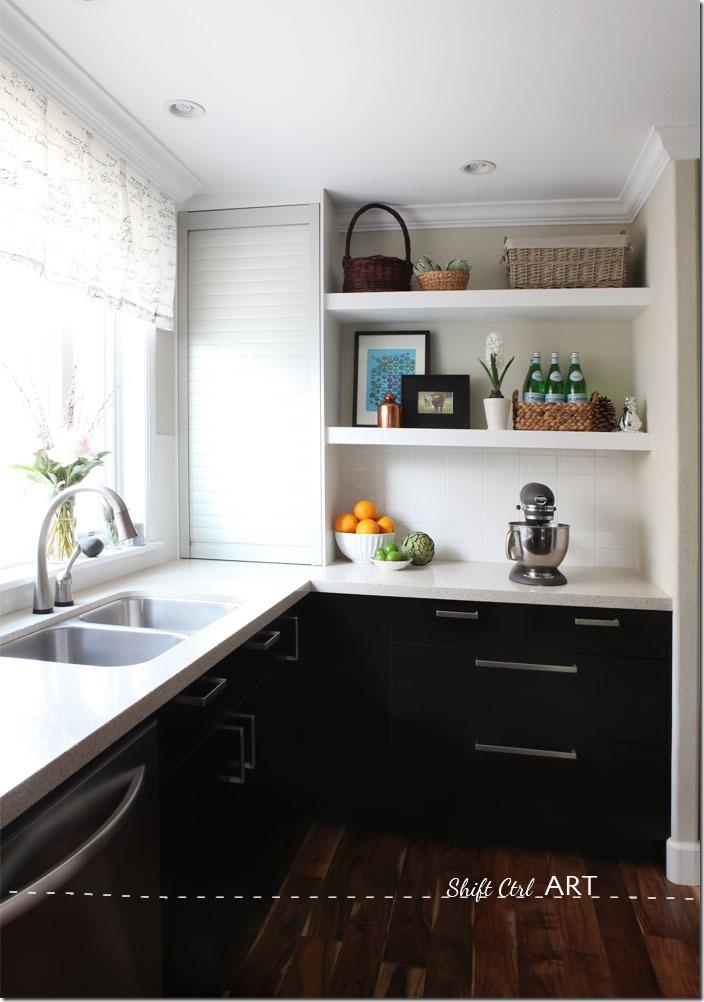 Kitchen-remodel-after-IKEA-Caesar-stone-Acacia-hardwood-DIY-10