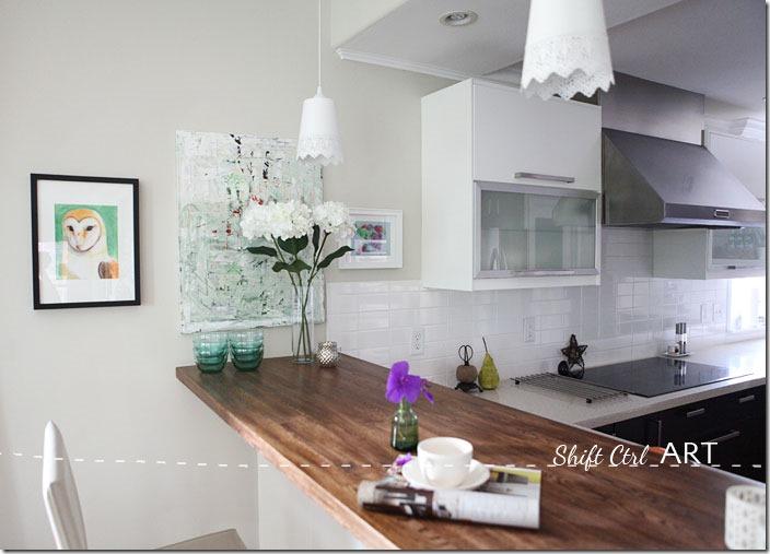Kitchen-remodel-after-IKEA-Caesar-stone-Acacia-hardwood-DIY-3