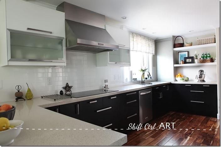 Kitchen-remodel-after-IKEA-Caesar-stone-Acacia-hardwood-DIY-8