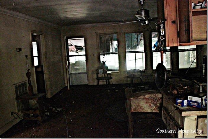 old house inside