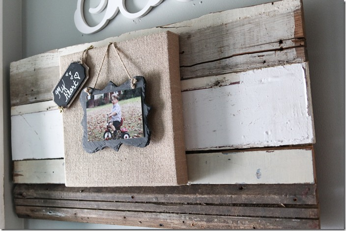 Beth Burlap-and-slate-picture-frame-on-reclaimed-wood-1-of-6
