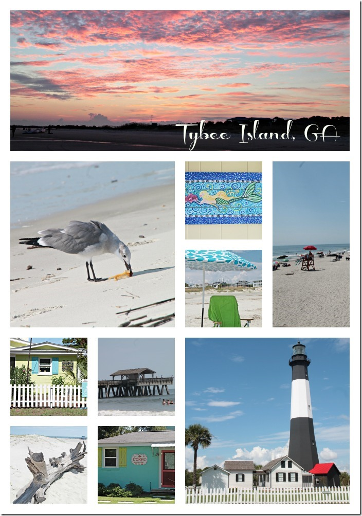 Tybee Collage