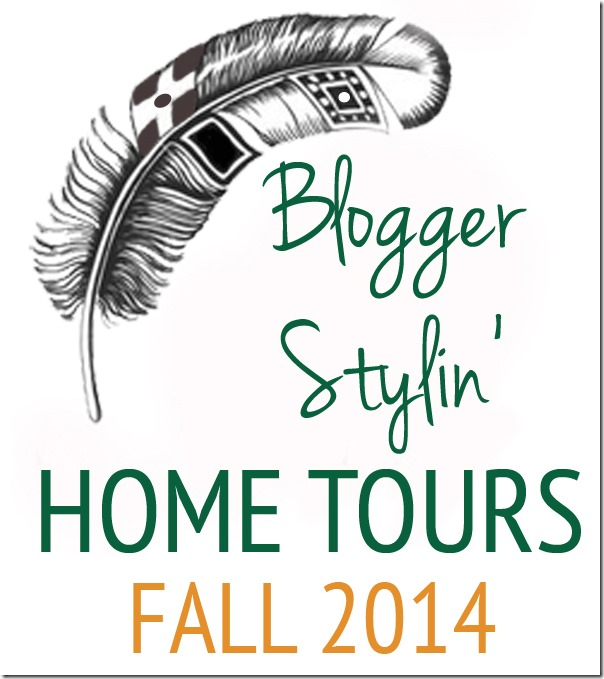 blogger stylin home tour