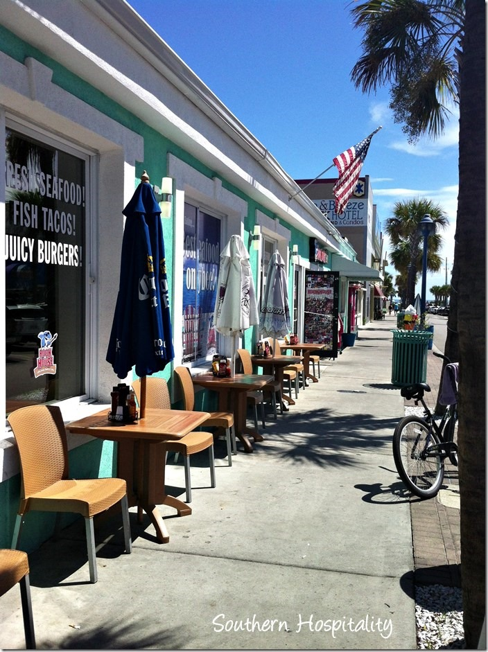 downtown Tybee
